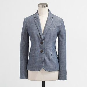 J. Crew factory keating boy blazer in chambray 2